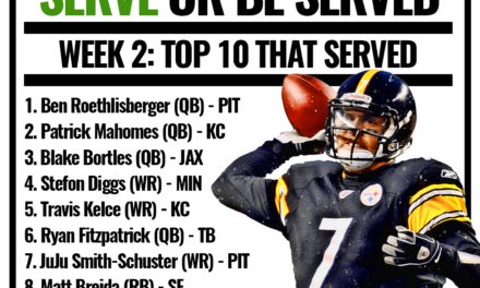 Who Served Crow for Week 2